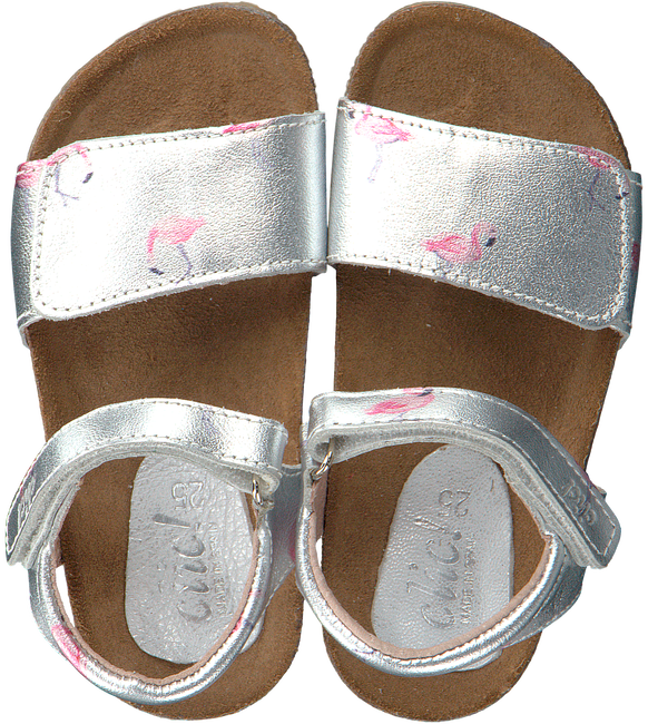 Silver CLIC! Sandals CL GRASS - large