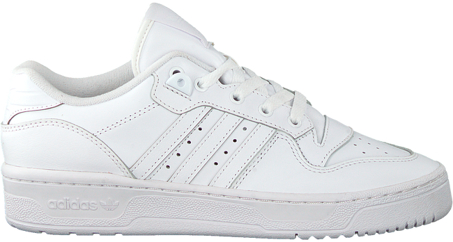 White ADIDAS Low sneakers RIVALRY LOW W
