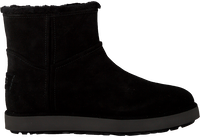 Black UGG Fur boots CLASSIC MINI BLVD  - medium