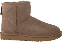 Brown UGG Fur boots W CLASSIC MINI II  - medium