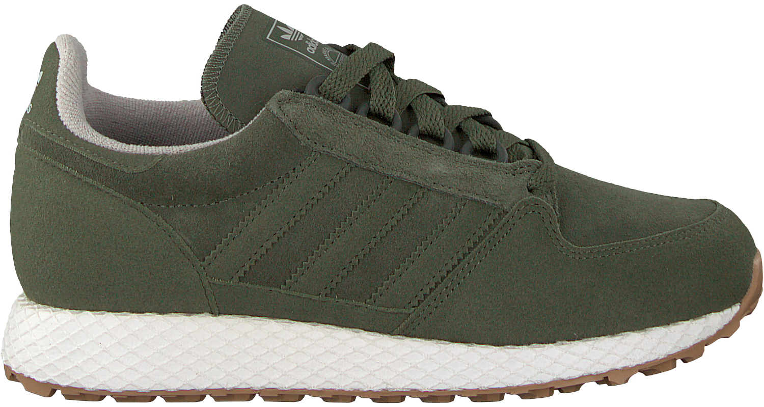 Green ADIDAS Sneakers FOREST GROVE J - Omoda.com