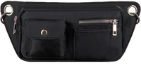 Black HVISK Belt bag BRILLAY NYLON  - medium