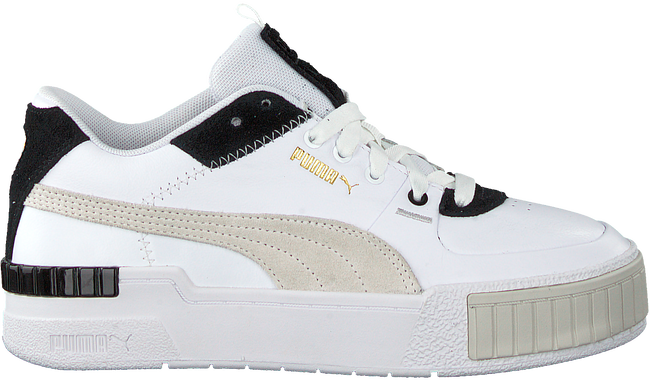White PUMA Low sneakers CALI SPORT MIX WN'S