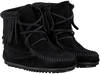 Black MINNETONKA Ankle boots 2429 - small