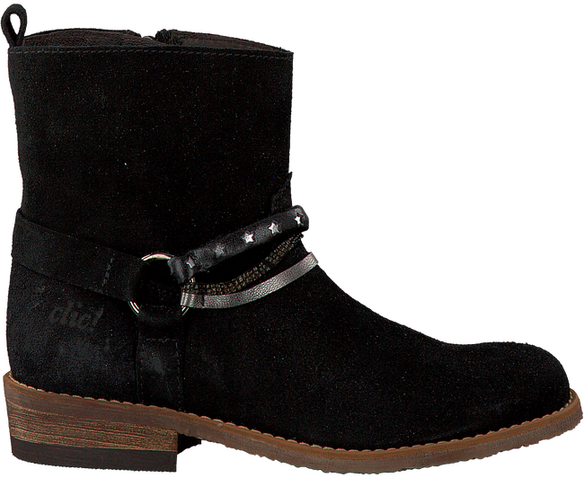 Black CLIC! High boots 9246 - large