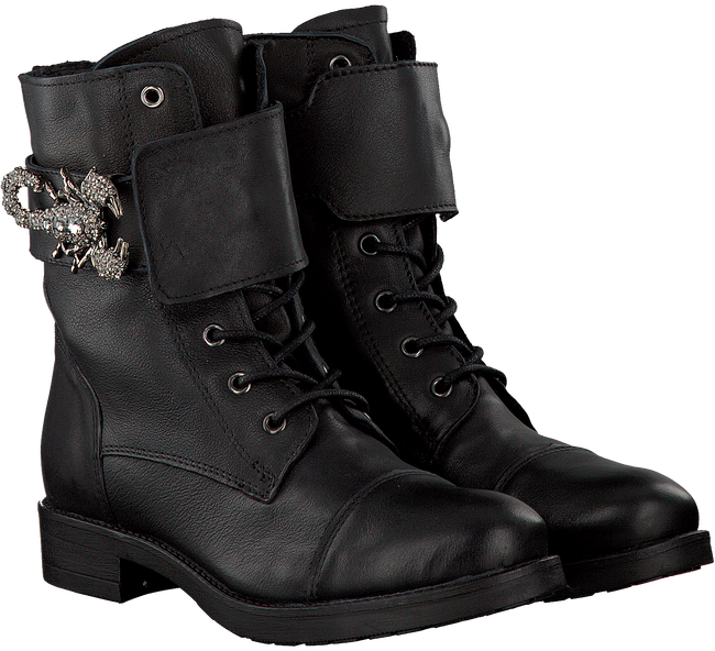 Black NIKKIE Lace-up boots SCORPION - large