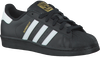 Black ADIDAS Sneakers SUPERSTAR DAMES - small