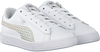 White PUMA Sneakers BASKET CHAMELEON  - small