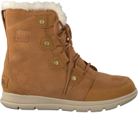 Camel SOREL Lace-up boots EXPLORER JOAN - medium