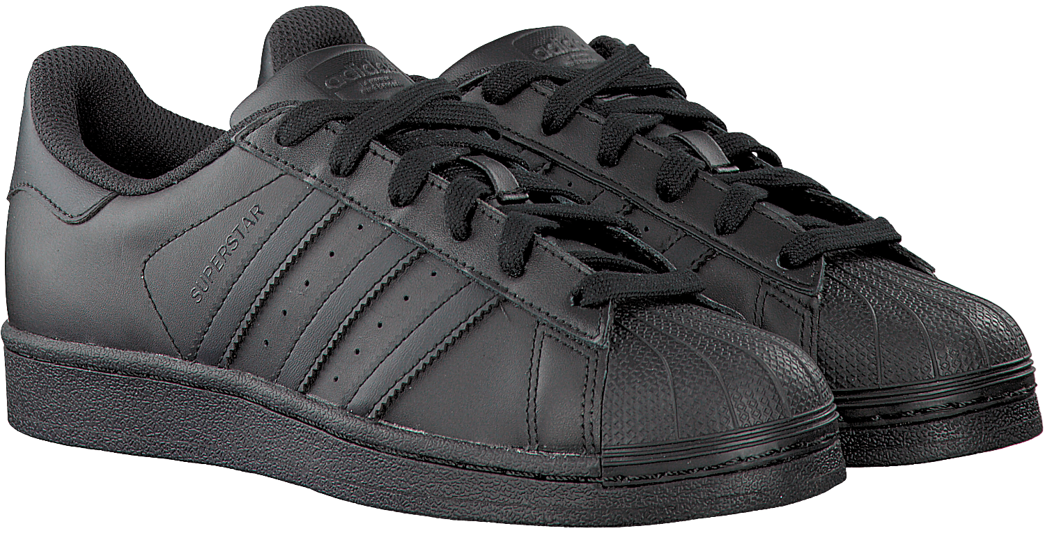 e03574b5418 Black ADIDAS Sneakers SUPERSTAR DAMES - large. Next
