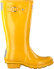 Yellow HUNTER Rain boots ORIGINAL KIDS GLOSS - small