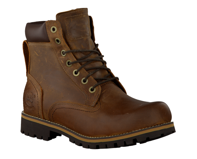 Brown TIMBERLAND Ankle boots RUGGED 6 IN PLAIN TOE WP - large