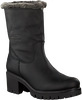 Black PANAMA JACK Booties PIOLA B11 - small