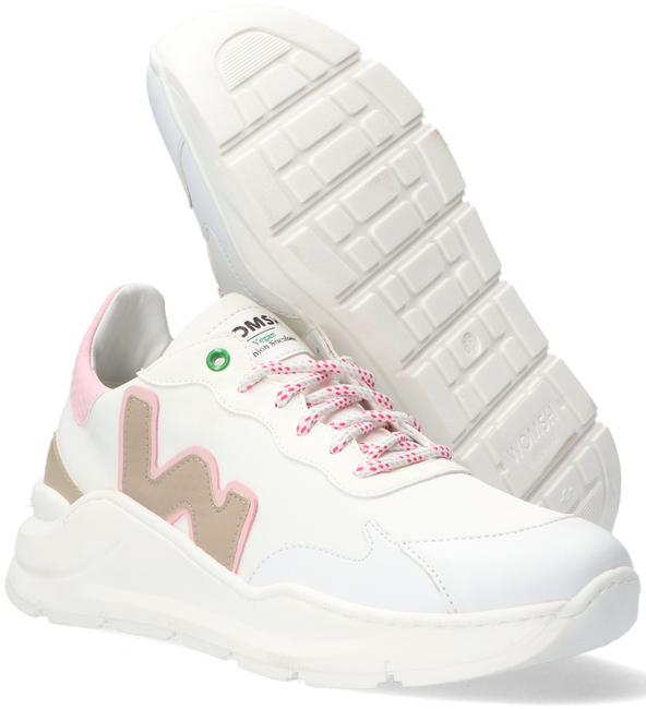 White WOMSH Low sneakers VEGAN WAVE WHITE SNOOPY  - large