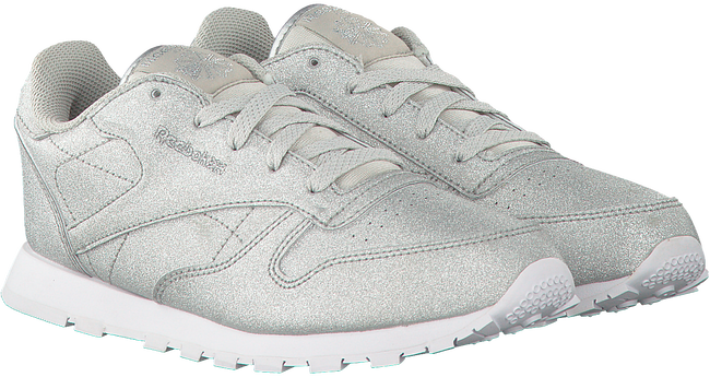 Silver REEBOK Sneakers CL LEATHER KIDS - large