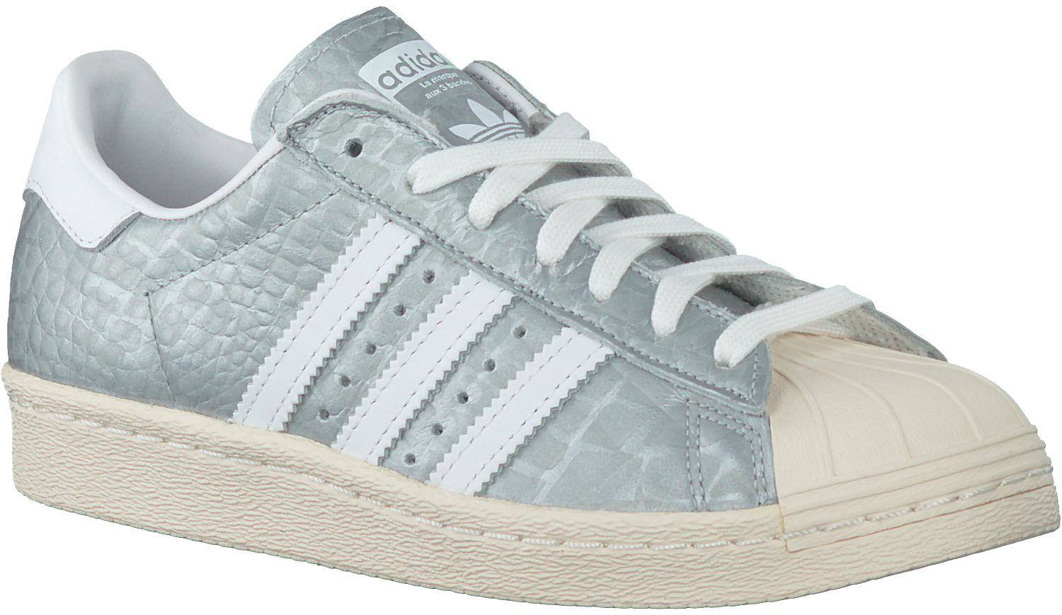 Grey ADIDAS Sneakers SUPERSTAR 80S DAMES - Omoda.com