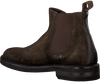 Brown GREVE Chelsea boots CABERNET II - small