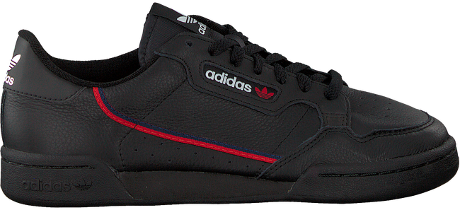 Black ADIDAS Sneakers CONTINENTAL 80 MEN  - large