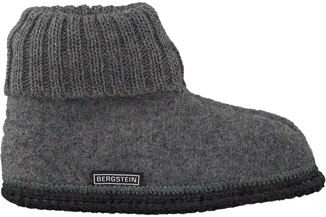 Grey BERGSTEIN Slippers COZY - large
