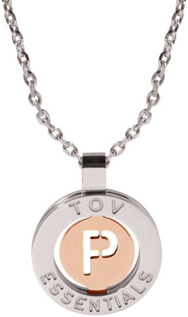 Gold TOV Necklace 1806 - large