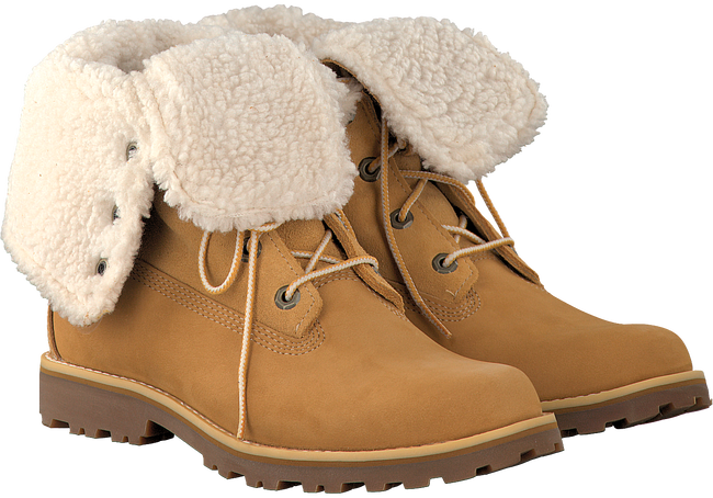 Camel TIMBERLAND Ankle boots 6IN WP SHEARLING BOOT - large