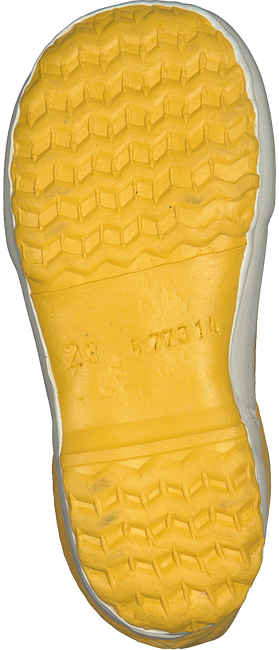 Yellow BERGSTEIN Rain boots WINTERBOOT - large