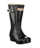 Black HUNTER Rain boots ORIGINAL KIDS GLOSS - small