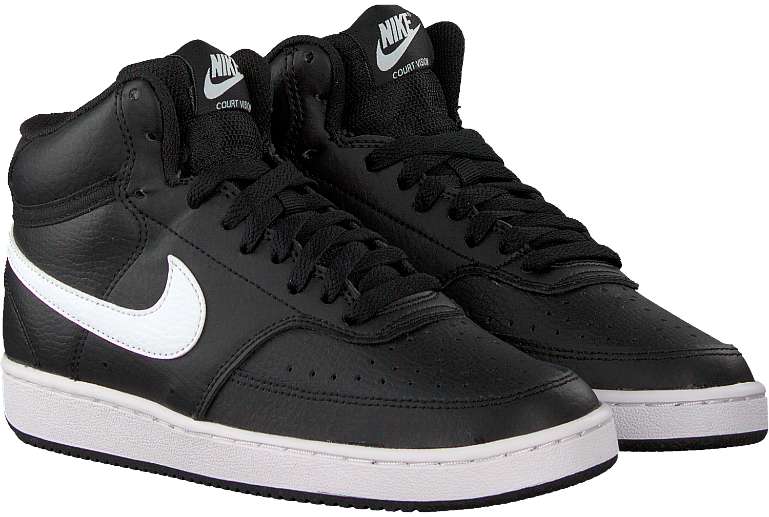 Black NIKE Low sneakers COURT VISION MID WMNS - Omoda.com