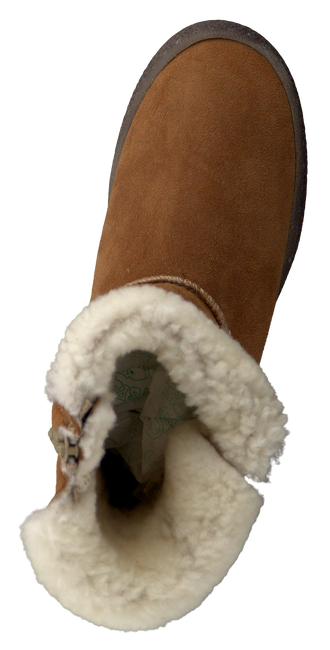 Cognac GATTINO Fur boots 3037 - large