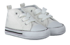 White CONVERSE Baby shoes FIRST STAR - small