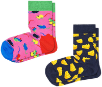 Multi HAPPY SOCKS Socks 2-PACK KIDS MOUSE  - medium