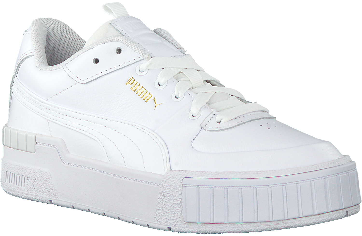 White PUMA Low sneakers CALI SPORT MIX WN'S - Omoda.com