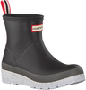 Blue HUNTER Rain boots WOMENS PLAY SHORT SPECKLE SOLE  - small