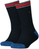 Blue TOMMY HILFIGER Socks TH KIDS ICONIC SPORTS SOCK 2P  - small