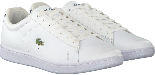 White LACOSTE Sneakers CARNABY EVO HEREN  - large