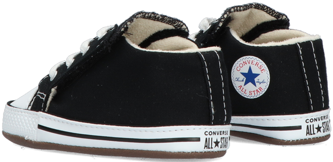 Black CONVERSE Baby shoes CRIBSTER CANVAS COLOR  - large