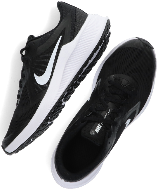Black NIKE Low sneakers DOWNSHIFTER 10 (GS)  - large