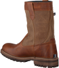 Cognac GAASTRA Classic ankle boots CABIN HIGH FUR - small