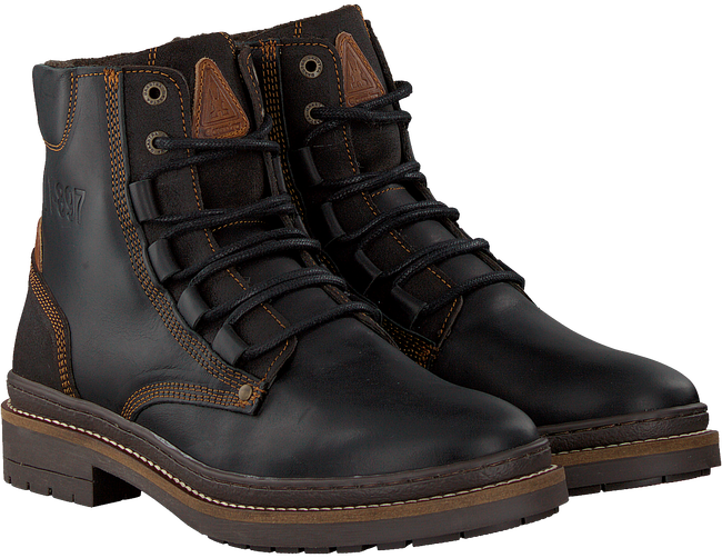 Black GAASTRA Lace-up boots TRAVIS HIGH  - large