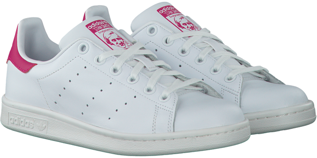 White ADIDAS Sneakers STAN SMITH J - large