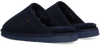 Blue WARMBAT Slippers CLASSIC UNISEX SUEDE - small