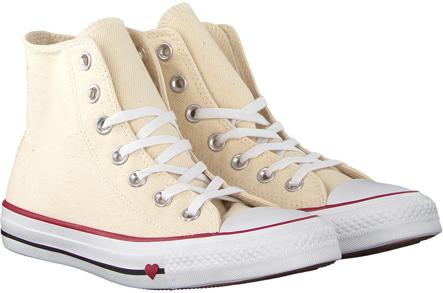 White CONVERSE Sneakers CHUCK TAYLOR ALL STAR HI DAMES ...