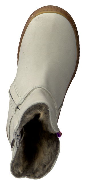 White KOEL4KIDS Fur boots PIPPA - large