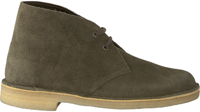 Green CLARKS Lace-up boots 26138111 DESSERT BOOT - large