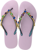 Purple UZURII Flip flops COLORFUL STAR - small