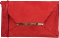 Red PETER KAISER Clutch KAMATA  - medium