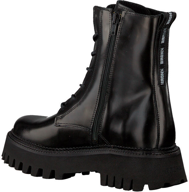 Black BRONX Lace-up boots GROOV-Y 47283  - large