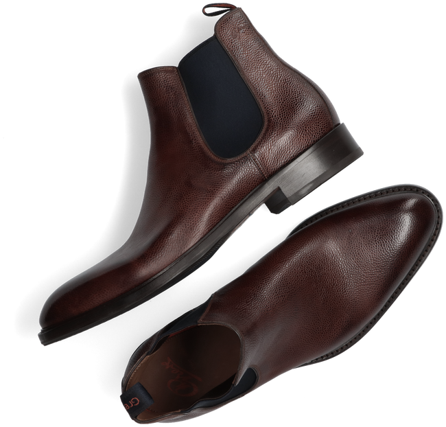 Brown GREVE Chelsea boots PIAVE 4757  - large