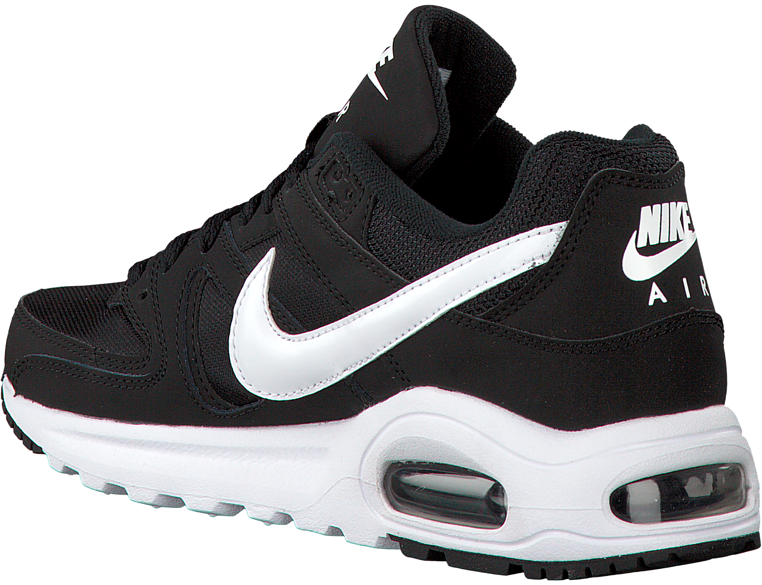 enaguas Villano desinfectar  Black NIKE Sneakers AIR MAX COMMAND FLEX (GS) | Omoda