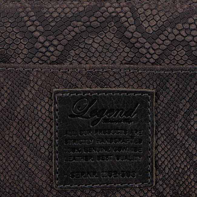 Grey LEGEND Wallet JERSEY SMALL PYTHON - large